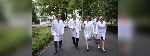Радий Хабиров провёл выездной «Здравчас» в уфимской горбольнице № 134