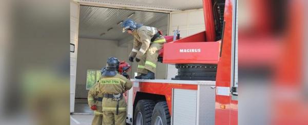 Photo of В Башкирии пожарные спасли трех детей из горящего дома
