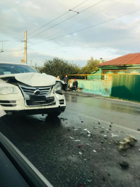 В Стерлитамаке на улице 7 Ноября произошло массовое ДТП1