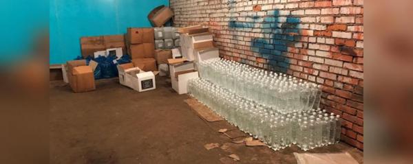В Стерлитамаке полицейские изъяли 1700 литров контрафактного алкоголя0