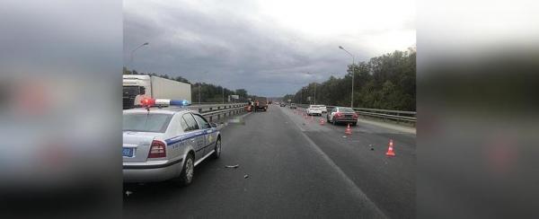Photo of В Уфе на трассе сбили дорожного рабочего