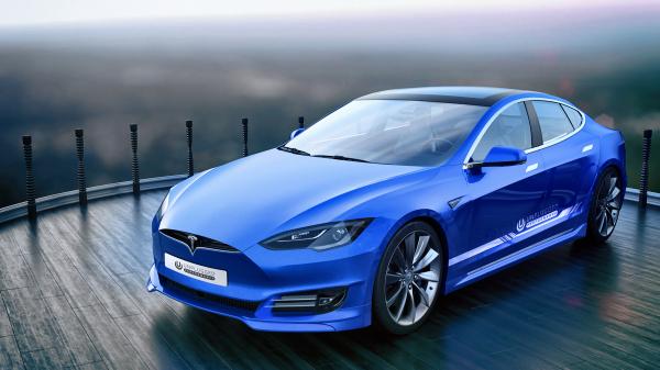 Tesla оказалась быстрее гоночного Porsche0