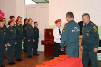 Photo of В одной из школ Стерлитамакского района открылся профильный класс МЧС