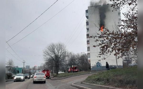 Photo of Появились подробности пожара в Уфе, где «двух малышей на руках медики несли в скорую»