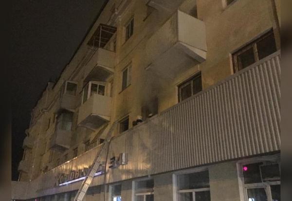 Стали известны возможные причины пожара в Уфе, где погибли две женщины0