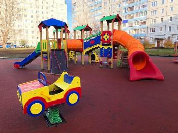 Photo of В Стерлитамаке в районе ВТС появилась новая детская игровая площадка