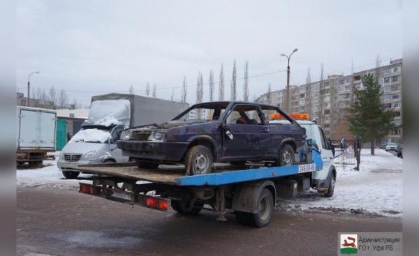 Photo of В Уфе началась эвакуация бесхозных машин