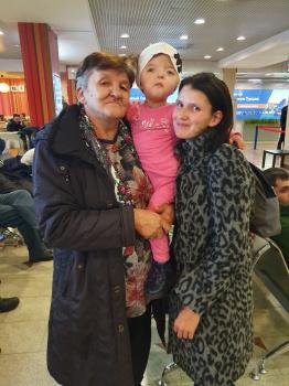 Photo of Видео: Софья из Стерлитамакского района вылетела на лечение в Израиль