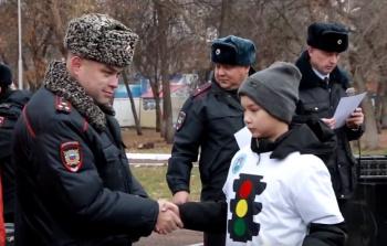 Видео: В Стерлитамаке прошла квест-игра «Битва отрядов юных инспекторов движения» 0