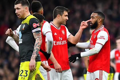 «Арсенал» на 96-й минуте ушел от поражения в игре с аутсайдером АПЛ0