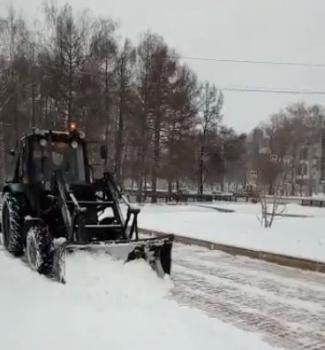 "Мэр Стерлитамака: ""Обильный снегопад окутал наш город""0"