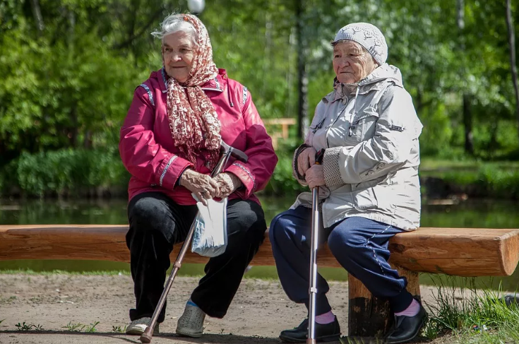Пенсионеры РФ